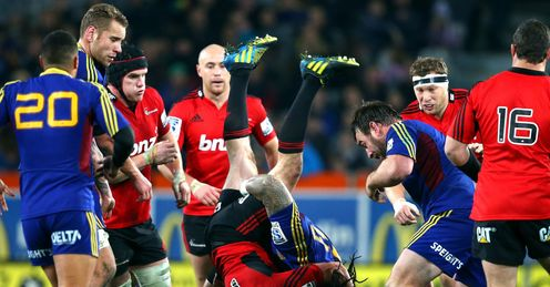 Highlanders Crusaders Ma a Nonu Red Card