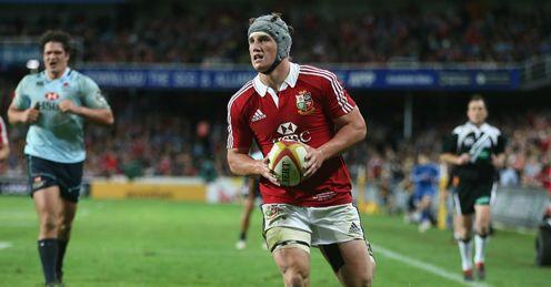 Jonathan Davies try Lions v Waratahs