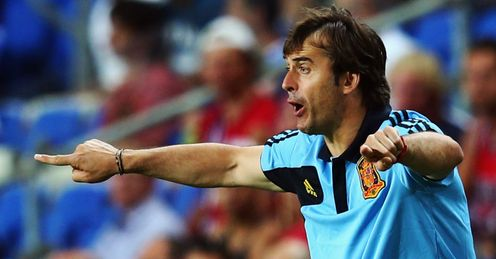 Julen Lopetegui: offered Martin a few insights into the secrets of Spain's success