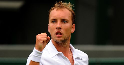 Steve Darcis: secured an impressive 7-6 (7-4), 7-6 (10-8), 6-4 win over Nadal