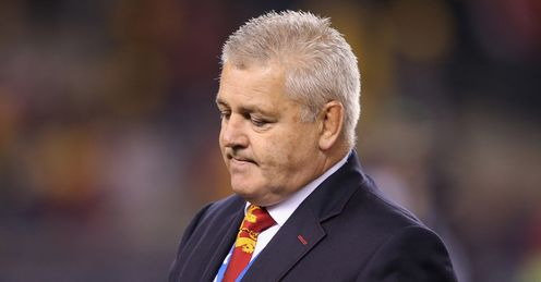 Gatland: will he regret not having O'Driscoll on the bench?