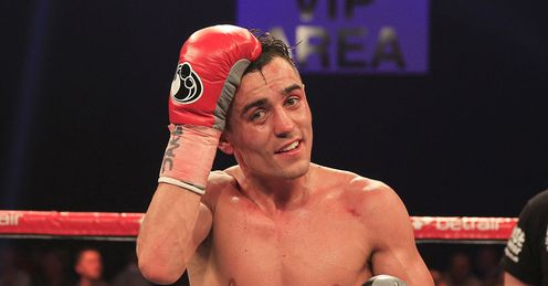 Anthony Crolla: Looking to leave the domestic division behind after joining Matchroom (Lawrence Lustig)