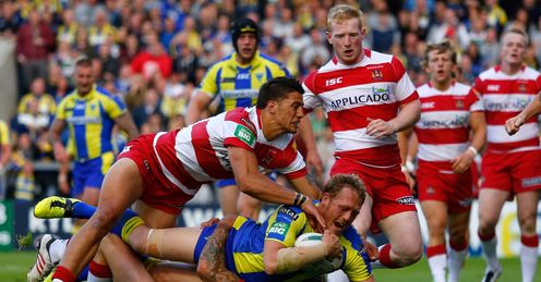 BEN WESTWOOD WARRINGTON WIGAN