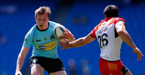 DAN SARGINSON LONDON BRONCOS MAGIC WEEKEND