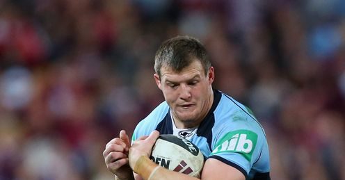 LEAGUE Josh Morris New South Wales Blues Queensland Maroons State of Origin Suncorp Stadium Brisbane