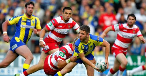 RICHIE MYLER WARRINGTON WIGAN