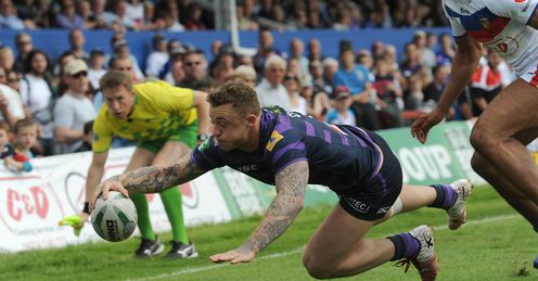 RUGBY LEAGUE SUPER LEAGUE Josh Charnley Wigan Warriors
