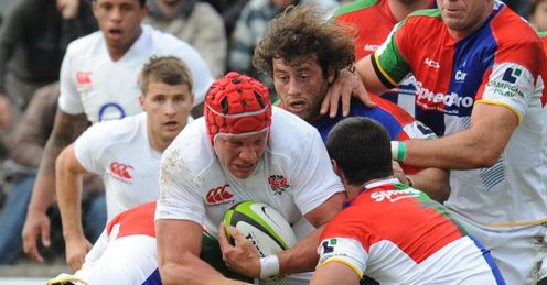 Tom Johnson England CONSUR XV