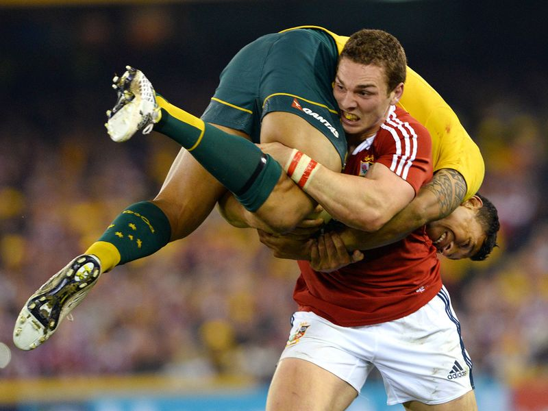 Gallery: Wallabies 16 Lions 15