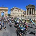 Stage seven got off to a spectacular start in Montpellier