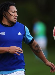 Maa Nonu All Blacks training New Plymouth Jun 2013