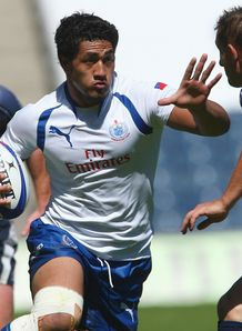 SKY_MOBILE Alafoti Fa osiliva Bath pictured playing for Samoa