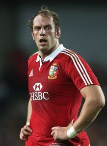 Alun Wyn Jones British and Irish lions 2013