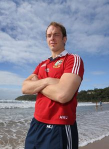 Alun Wyn Jones Lions Captain2