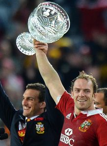 Alun Wyn Jones and Sam Warburton