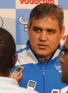 Frans Ludeke Bulls coach 2013