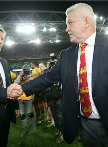 Gatland and Deans Australia v Lions 3rd Test