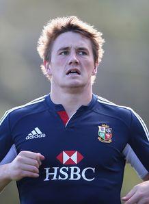 Jonathan Davies Training Lions
