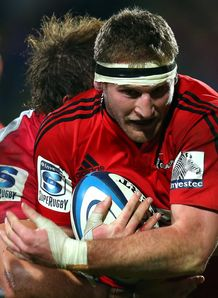 Kieran Read Crusaders v Reds 2013