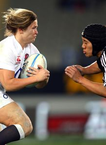 Marlie Packer for England Women against Black Ferns