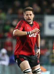 Richie McCaw Crusaders v Reds 2013