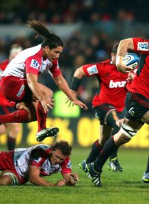 Sam Whitelock Crusaders v Reds 2013