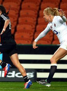 Selica Winiata New Zealand v England women s rugby 2013