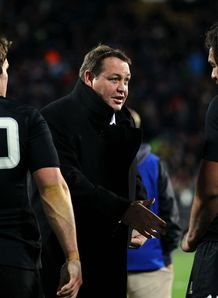 Steve Hansen All Blacks coach 2013