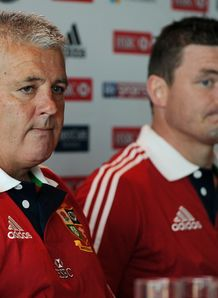 SKY_MOBILE Warren Gatland Brian O Driscoll British Irish Lions