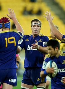 Brad Thorn: victorious captain