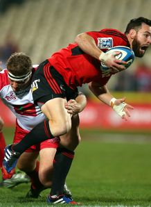 RYAN CROTTY CRUSADERS V REDS SUPER RUGBY