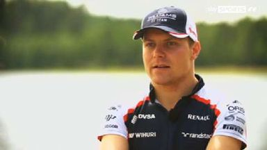 At home with Bottas