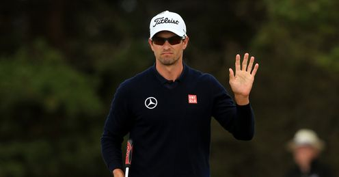 Master craftsman: Scott is swinging well and can win PGA, says Rob