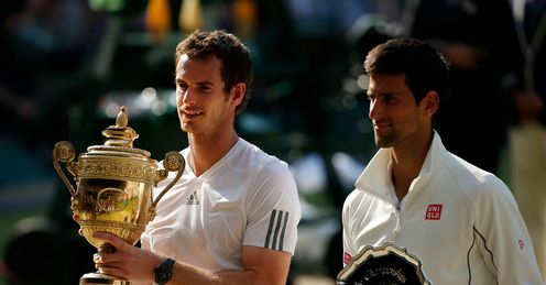 Murray and Djokovic: will be hard to topple, says Barry