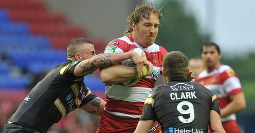 Andy Powell Wigan Warriors 2013