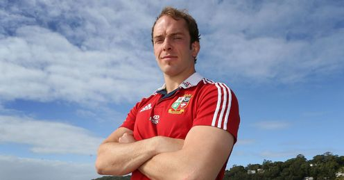 British and Irish Lions Alun Wyn Jones