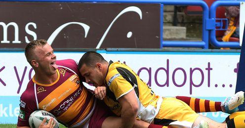 Huddersfield v Castleford Ben Blackmore