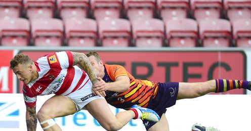 Josh Charnley Wigan Warriors 2013