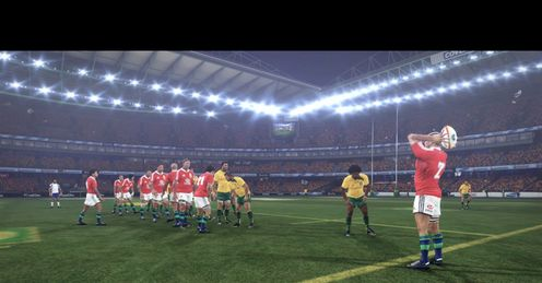 Rugby challenge 2 lineout header