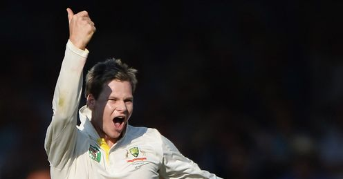 Smith: took 3-18 in his six-over spell