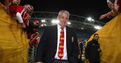 Gatland: showed his mettle with some tough selections