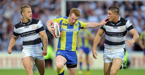 CHALLENGE LEAGUE Chris Riley Warrington wolves Hull FC