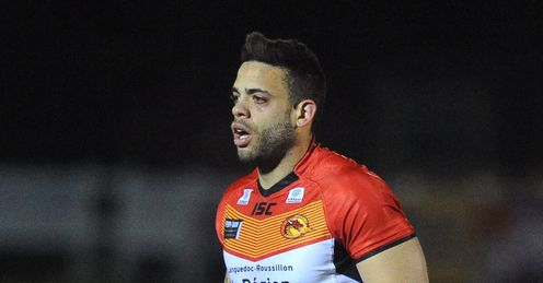 KEVIN LARROYER SUPER LEAGUE CATALAN DRAGONS