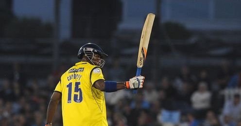 Carberry: Celebrates another impressive knock