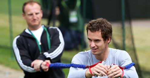 A stretch for Murray: the Brit will meet an improving Djokovic, says Barry