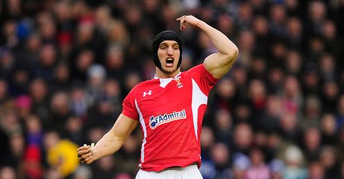 Sam Warburton Wales Six Nations Murrayfield Rugby union