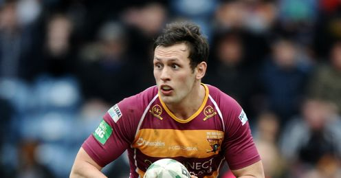 SHAUN LUNT OF HUDDERSFIELD GIANTS