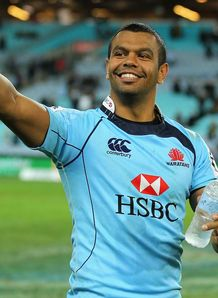 kurtley beale waratahs