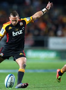 Aaron Cruden Chiefs v Brumbies SR Final 2013