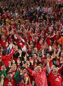 British and Irish Lions fans Australia tour 2013